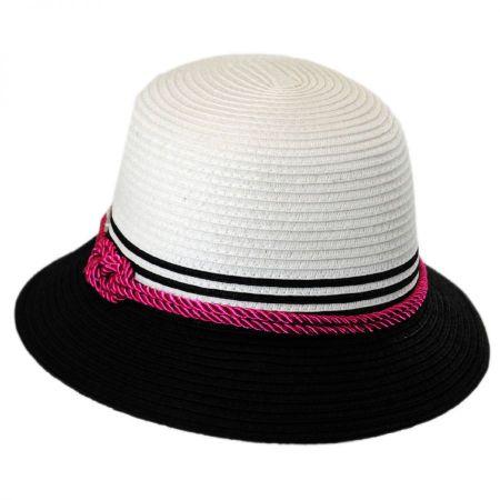 Kate Toyo Straw Cloche Hat alternate view 1