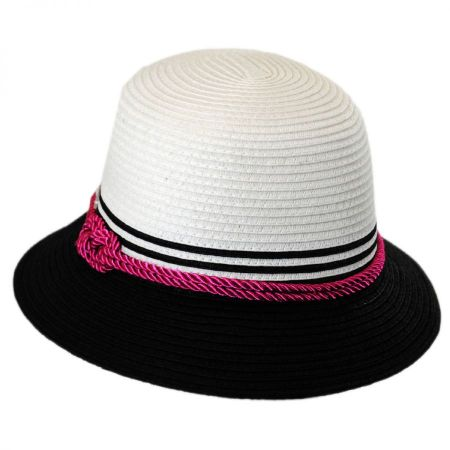 Betmar Kate Toyo Straw Cloche Hat