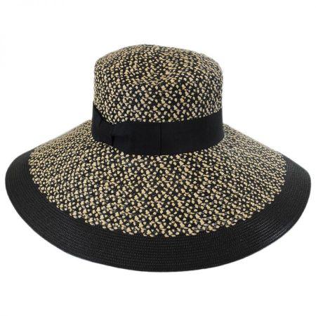 Audrey Toyo Straw Blend Downbrim Hat alternate view 1