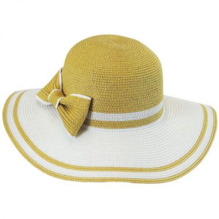 Betmar Mallory Toyo Straw Floppy Sun Hat