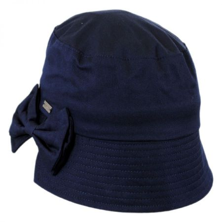 Betmar Gigi Split Brim Cotton Bucket Hat