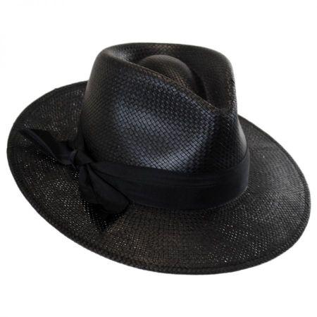 Karen Kane Toyo Straw Trilby II Fedora Hat