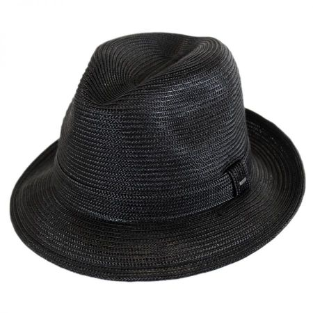Tate Braided Straw Fedora Hat alternate view 1