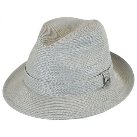 Tate Braided Straw Fedora Hat alternate view 9