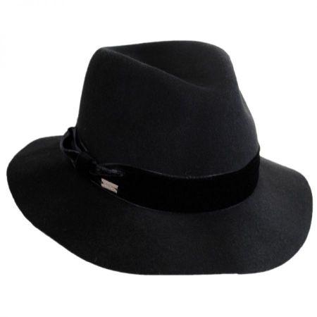 Izette II Wool LiteFelt Fedora Hat