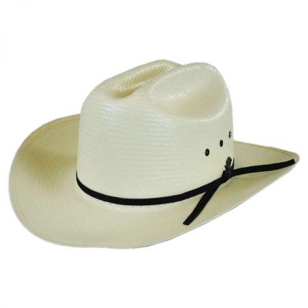 Short Brim Straw Cowboy Hat - Image Of Hat 6403a162fa65