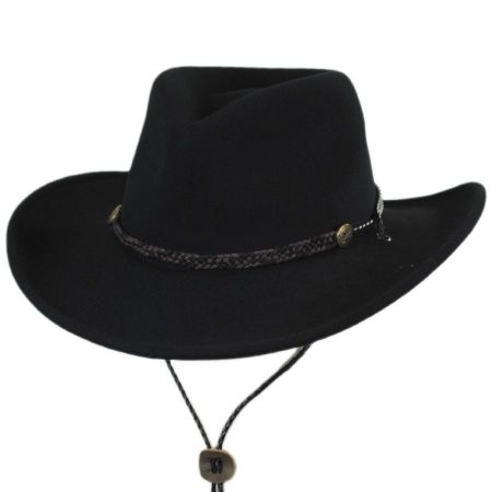 Montrose Crushable Wool LiteFelt Western Hat
