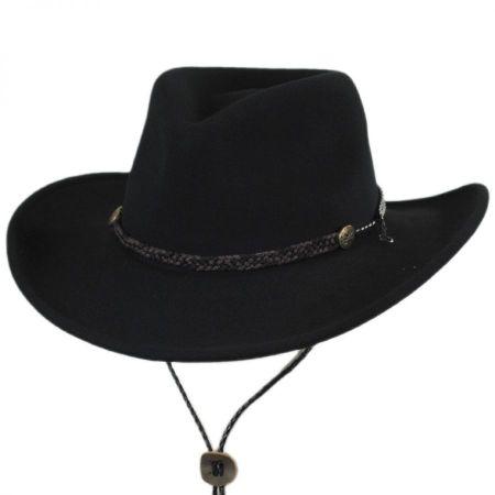 Montrose Crushable Wool LiteFelt Western Hat alternate view 17