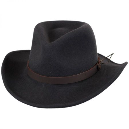 Caliber Wool LiteFelt Western Hat alternate view 1