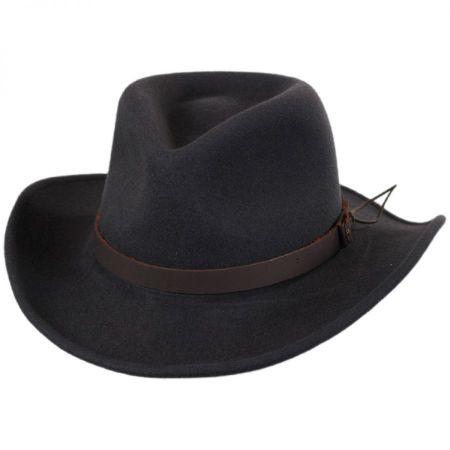 Caliber Wool LiteFelt Western Hat alternate view 13
