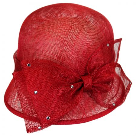 Sophia Estrella Straw Cloche Hat
