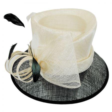 Sophia Bijou Straw Cloche Hat