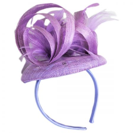 Sophia Boucle Straw Fascinator Headband
