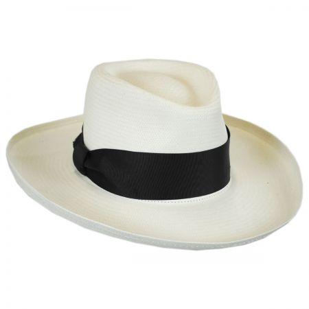 Jill Toyo Straw Wide Brim Fedora Hat alternate view 5