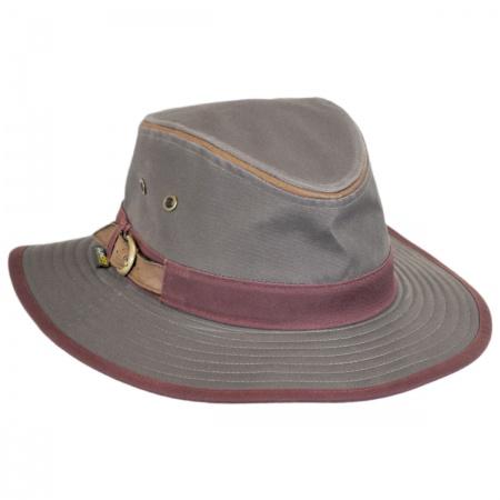 Ponderosa Tech Canvas Safari Fedora Hat alternate view 1