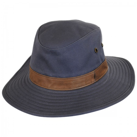 Lookout Tech Canvas Safari Fedora Hat alternate view 1