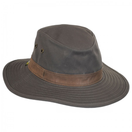 Lookout Tech Canvas Safari Fedora Hat alternate view 5