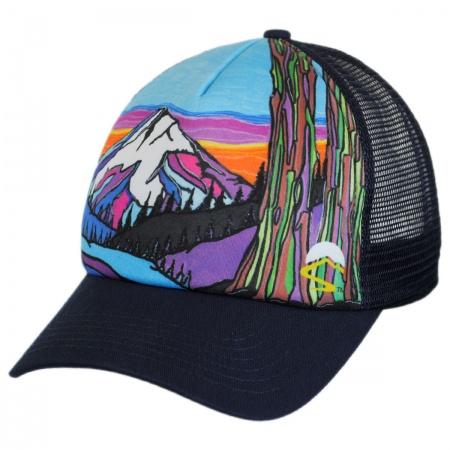 Mountain Northwest Trucker Snapback Baseball Cap alternate view 1
