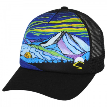 Sunday Afternoons Northern Lights Northwest Trucker Snapback Baseball Cap