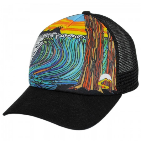 Sunday Afternoons Ocean Northwest Trucker Snapback Baseball Cap