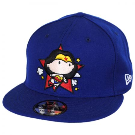 New Era DC Comics Wonder Woman Chibi 9FIFTY Snapback Baseball Cap
