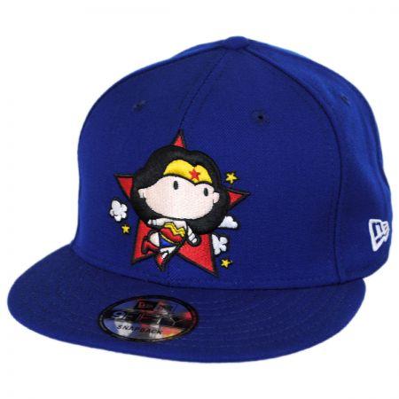 New Era DC Comics Wonder Woman Chibi 9FIFTY Snapback Baseball Cap