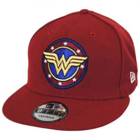 New Era DC Comics Wonder Woman Shield 9FIFTY Snapback Baseball Cap