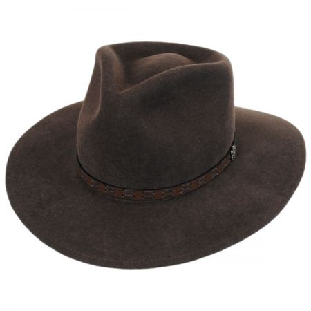 Biltmore Pathfinder Crushable Wool Felt Outback Hat