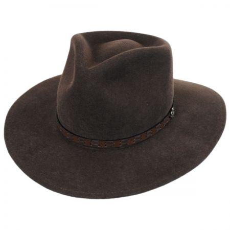 Biltmore Pathfinder Crushable Wool Felt Outback Hat