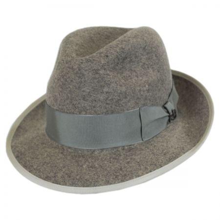Malcolm Wool Felt Trilby Fedora Hat alternate view 1