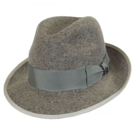 Malcolm Wool Felt Trilby Fedora Hat alternate view 5
