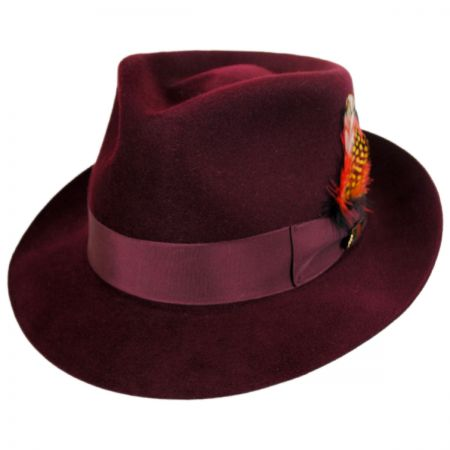 Executive Fur Felt Trilby Fedora Hat alternate view 9