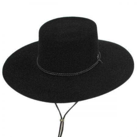 Toledo Wool Felt Bolero Hat