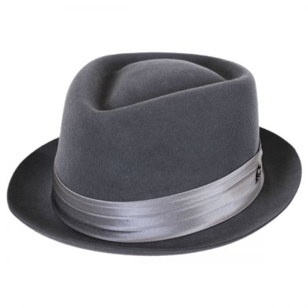 Biltmore Myers Wool Felt Diamond Crown Fedora Hat