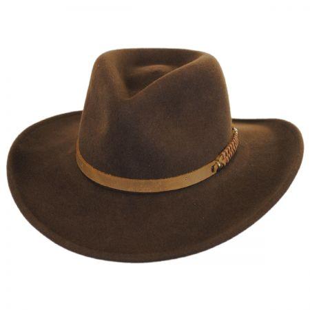 Wind River Prospector Wool Felt Outback Hat