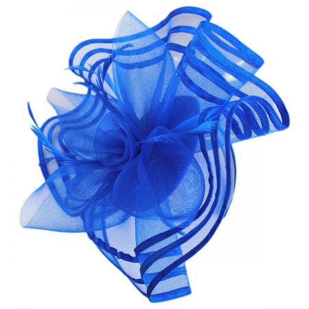 Blue Fascinator at Village Hat Shop 93ca90332be