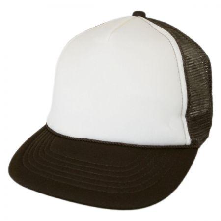 KC Caps Foam and Mesh Trucker Snapback Baseball Cap 8b9b29e5fb8