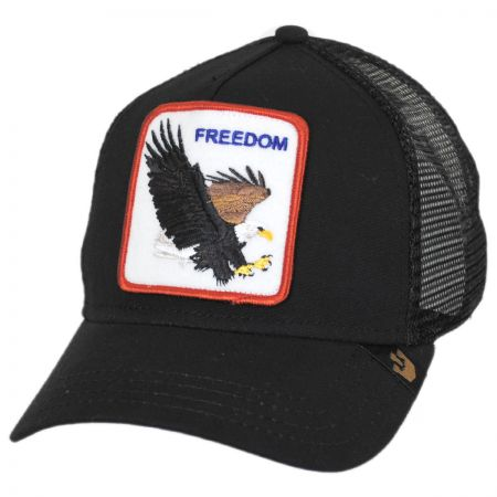 Freedom Mesh Trucker Snapback Baseball Cap alternate view 1