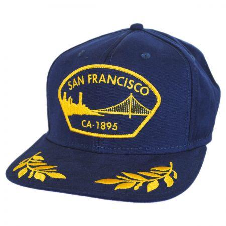 Goorin Bros San Francisco Snapback Baseball Cap