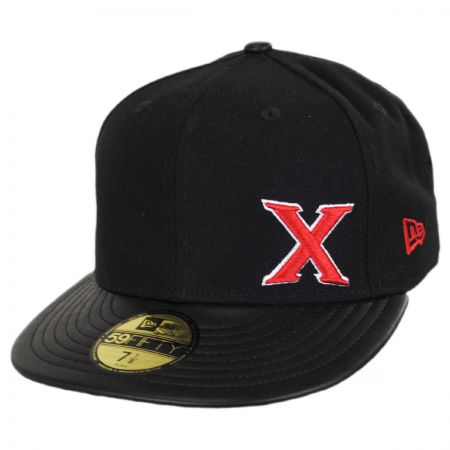 New Era Xolos Small X 59FIFTY Fitted Baseball Cap