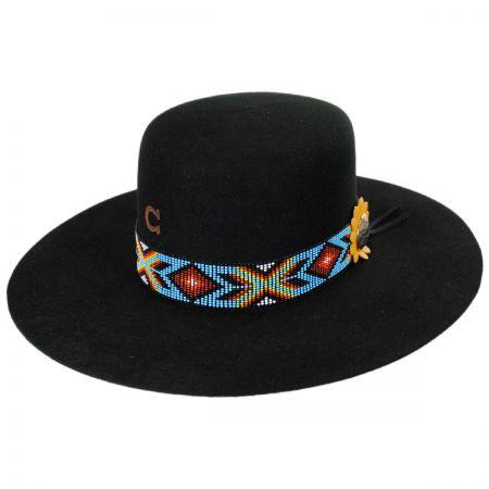 Charlie 1 Horse Outlaw Wool Felt Western Hat