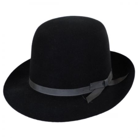 Stetson Sightseer Fur Felt Open Crown Fedora Hat