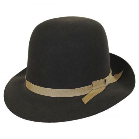0db1996eba7 Stetson Sightseer Fur Felt Open Crown Fedora Hat