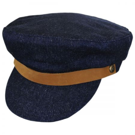Brixton Hats Kurt Cotton Fiddler Cap