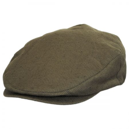 Brixton Hats Hooligan Linen and Cotton Solid Ivy Cap