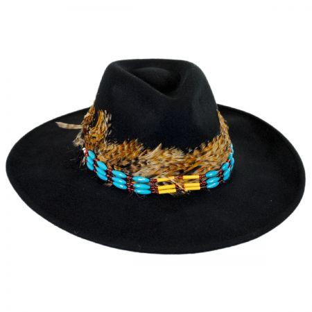 Brooklyn Hat Co Marne Wool Felt Wide Brim Fedora Hat
