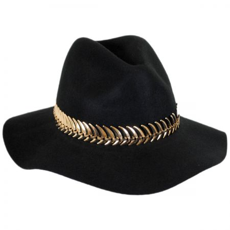 Brooklyn Hat Co Biarritz Wool Felt Safari Fedora Hat