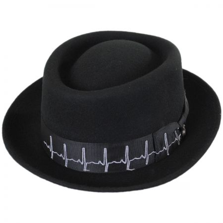 Carlos Santana Wellness Pork Pie Hat