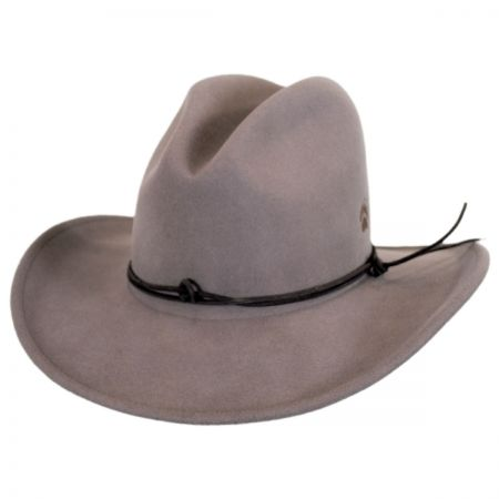 Bartel Crushable Wool LiteFelt Western Hat