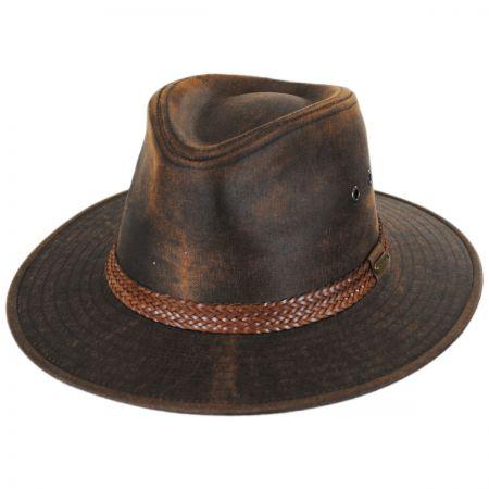 302f2ac7a9de1 Stetson Leather Ivy Cap at Village Hat Shop